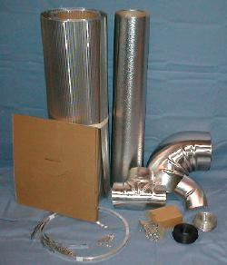 Metal jacketing, fitting covers, bands, screws, wire