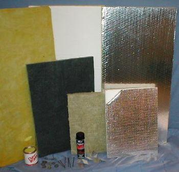 Foam Board Insulation and Accessories
