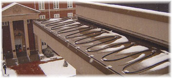 heat cable gutter freeze protection